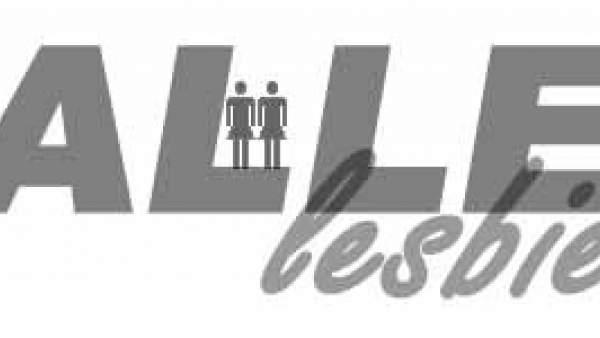Het logo van Hallelesbienne