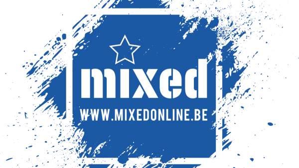 Het logo van mixed